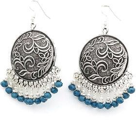 Oxidized Designer Party wear Earring