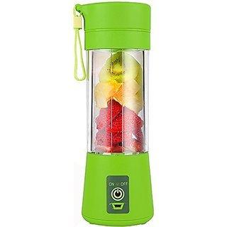 Plastic Portable USB Electric Blender Juice Cup(Multicolour)