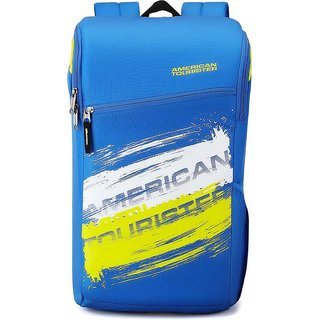 American Tourister  Zest Sch Bag 24 L Backpack  (Blue)
