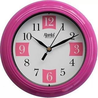 Ajanta Wall Clock 2187Pink