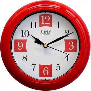 Ajanta Wall Clock 2187Red