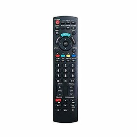 EHOP Compatible Remote Control for Panasonic Led/LCD (Black) Universal