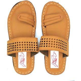 Pampys Angel V Dots002 Slipper/Flip Flops/Slides for Men