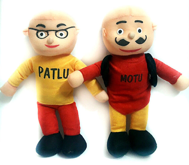 only4you MOTU PATLU SOFT TOY PAIR 40 CM SMALL PLUSH TOYS
