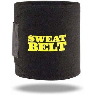 Aaradhyaa Black Upper Body Hot Shaper Sweat Belt (Fit for All/Free Size)