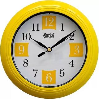 Ajanta Wall Clock 2187Yellow