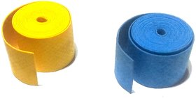 Nawani Badminton Grip Sweat Absorption with Soft Feel - Set of 2 Grips,Color May Vary