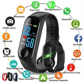 M3 Plus WaterProof Smart Band Compatiable With All Android Phones