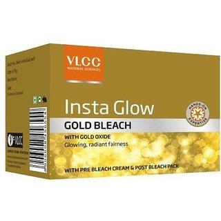 Vlcc Insta Glow Gold bleach 30 gm set of 6 pc