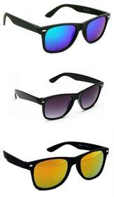 Derry Pack Of Three Wayfarer Sunglasses
