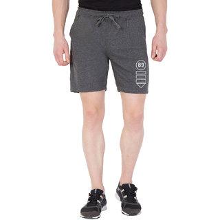 Haoser Men's Dark Grey Gym Comfort  Shorts