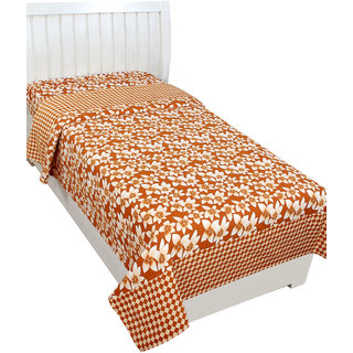 Trendz Home Furnishing 5D Single Bedsheet/Topsheet Without Pillow Cover,Size 227X152