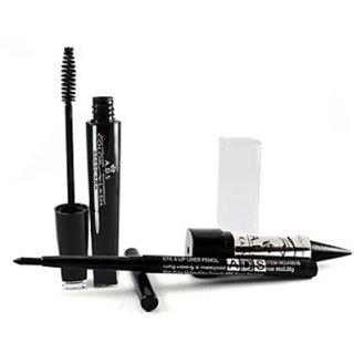 Ads Mascara Kajal Eye Lip Liner (Pack Of 3) Trendster