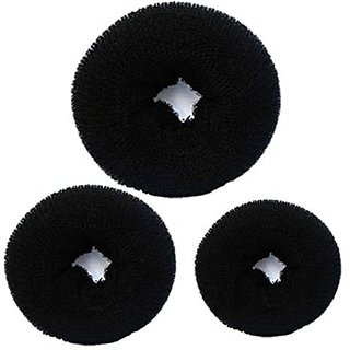 Osking Salon Accessories Hair Donut Bun Maker All 3 Different Sizes Hair Donut Bun Maker Hair Band