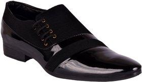 Aadi Men Black Lace-up Smart Formals Shoes