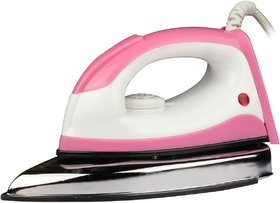 Monex New Desire Range 1000 W Dry Iron  (Pink)