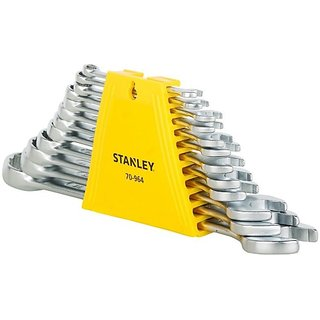 Stanley 70 964 Double Sided Combination Wrench Set (Pack of 12)