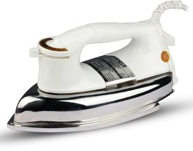 MONEX New Range Of Heavyweight Plancha 1000 W Dry Iron  (White)