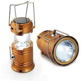 HFK 6 LED PORTABLE RECHARGABLE EMERGENCY LIGHT SOLAR CHARGING