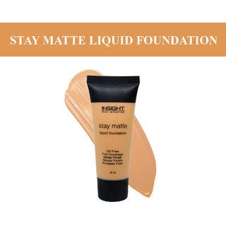 Insight Caramel STAY MATTE LIQUID FOUNDATION-#df9754