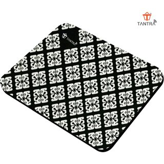 Tantra Mouse Pad for Gaming Office Home Soft Light Weight Super Smooth Experience and Anti-Slip Base