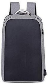 PowerUp USB Interface Charging Backpack Casual Anti-Theft Bag-Dark Gray