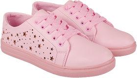 ZAVO Women's Pink Mate Casual Shoes