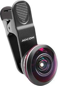 Adcom AD-8MM Pro 238 Full Degree Lens - Cell Phone Travel Lens for - Mobile Phone Lens