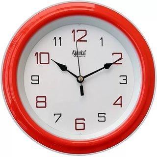 Ajanta Wall Clock 2147Red