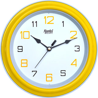 Ajanta Wall Clock 2147Yellow
