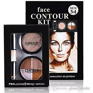 Kiss Beauty 3 in 1 Contour Kit 10 gm