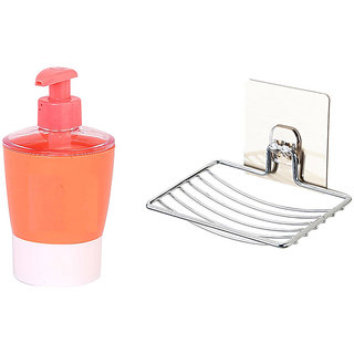 Buy 1pc of Liquid Soap Dispenser and Get 1pc of Suction Soap Dish Free