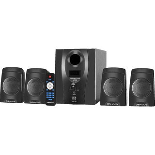 OSHAAN ATOM 4.1 BT Multimedia Home Theater Speaker with Bluetooth