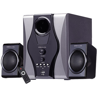 OSHAAN CMPS-15 2.1 BT Multimedia Home Theater Speaker with Bluetooth