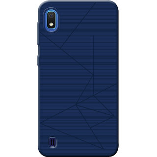 Cellmate Leke Professional Strip Back Case and Cover for Samsung Galaxy A10 - Blue