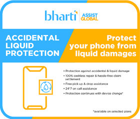 Bharti Assist Protect 1 year Accidental  liquid Damage Protection Plan for Mobile Between Rs. 20001 to Rs. 30000