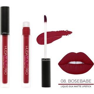 Huda Beauty Pro  Original Silk  Matte Lip Gloss Shade H