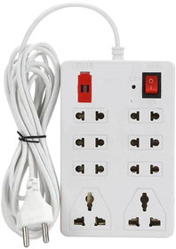 EXTENSION BOARD 2MTR CORD WITH FUSE SAFETY