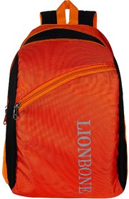 Lionbone School Bag Unisex Boys Girls Backpack Polyester Back bag with Trendy Design Book bags,