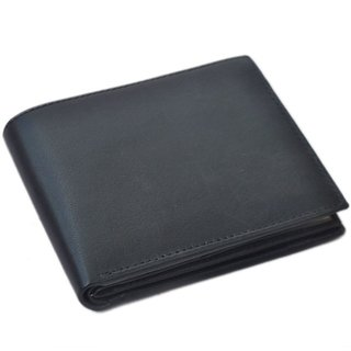 Topware Faux Leather Black Casual Regular Wallet (Synthetic leather/Rexine)