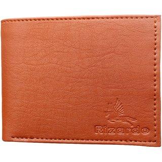 RIZARDO Men's  Wallet Leatherite Leather X45 (Synthetic leather/Rexine)