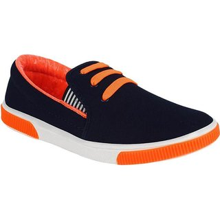Weldone Men's Stylish Canvas Casual Shoes