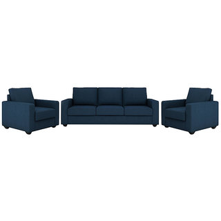 Houzzcraft Marry sofa set 3+1+1 in fabric