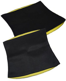 Battlestar  Hot Shaper Belt, Sweat Slim Belt for Men Women Waist Trimmer Stomach Belt Shaper Fitness Belt Yoga wrap hot Belt Unisex Weight Loss Fat Burner Back Pain Gym Running Travel Tummy Workout code-HOTR34
