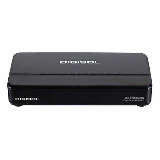 DG FS1008DG  H/W Ver. C1  , DIGISOL 8 Port Fast Ethernet Unmanaged Desktop Switch