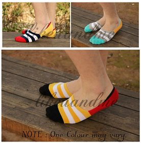 5 Pairs Unisex Bamboo No Show Loafer Socks Low Cut Foot Cover Socks, Ankle Socks
