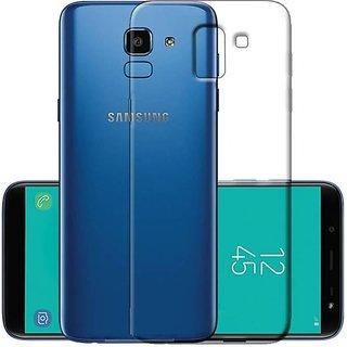Samsung Galaxy J6 Transparent Back Cover Standard Quality