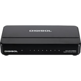 DG-GS1008DG (H/W Ver. C1)  DIGISOL 8 Port Gigabit Ethernet Unmanaged Desktop Switch
