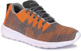 Blue Pop Grey Orange Sports Shoes