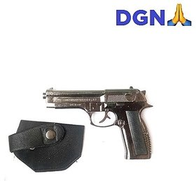 DGN Deals 608 Heavy gun cigarette lighter with cover black